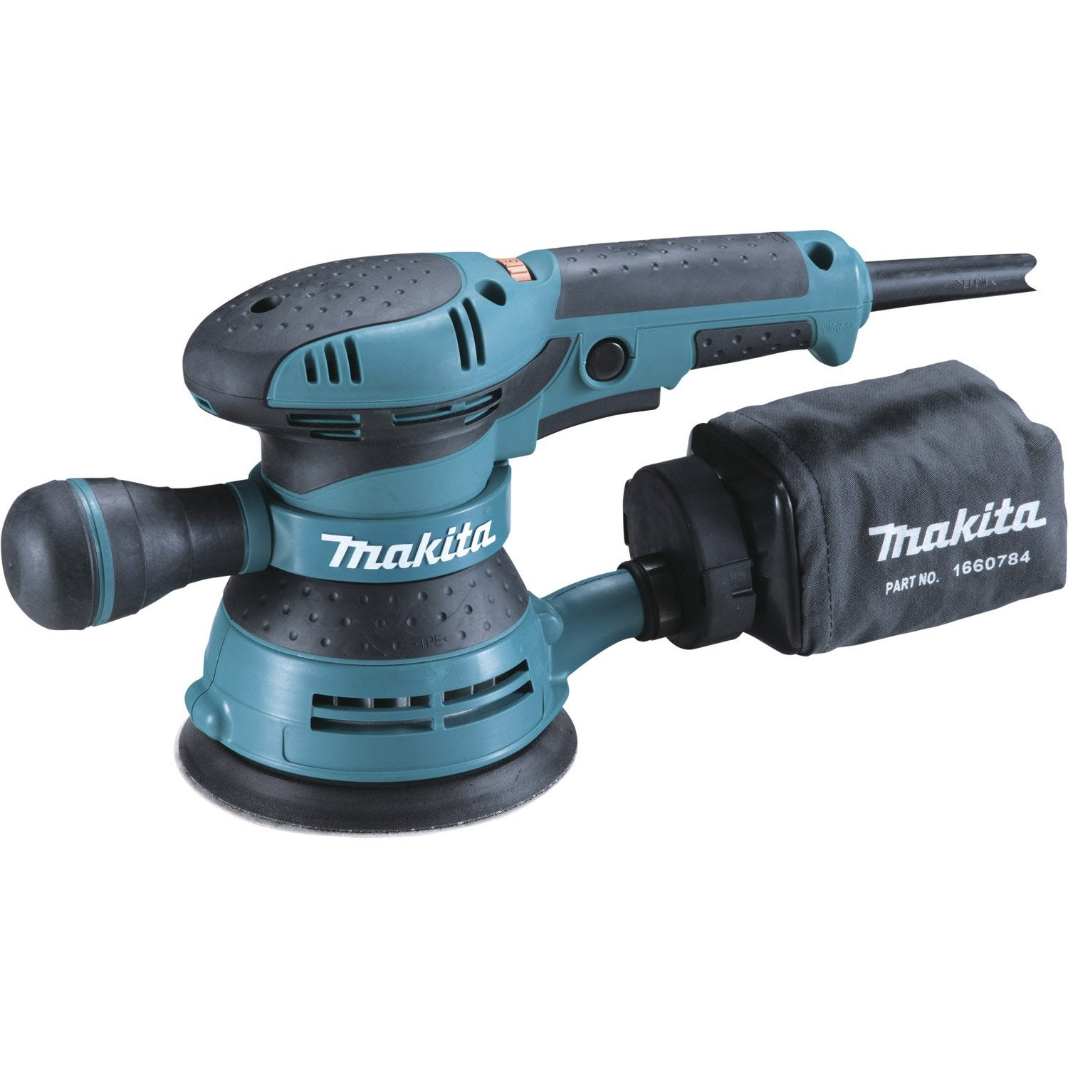 Ponceuse excentrique filaire makita bo5041kx1 300 w - Makita leroy merlin ...