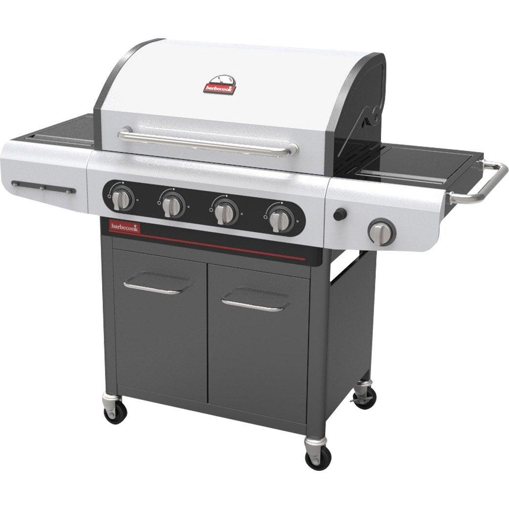 barbecue au gaz barbecook siesta 412 4 br leurs 5 br leurs. Black Bedroom Furniture Sets. Home Design Ideas