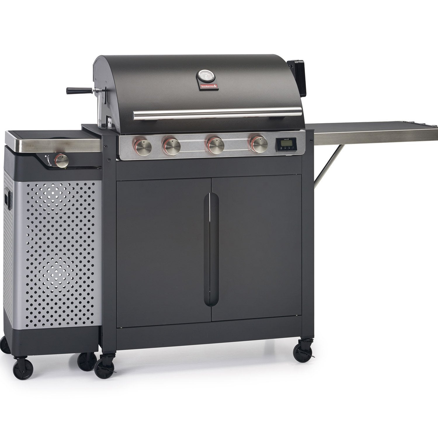 Barbecue nok 4 bruleurs leroy merlin for Barbecue a gaz leroy merlin