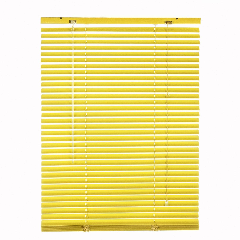 Store v nitien aluminium jaune anis n 4 x cm leroy merlin - Store venitien leroy merlin ...