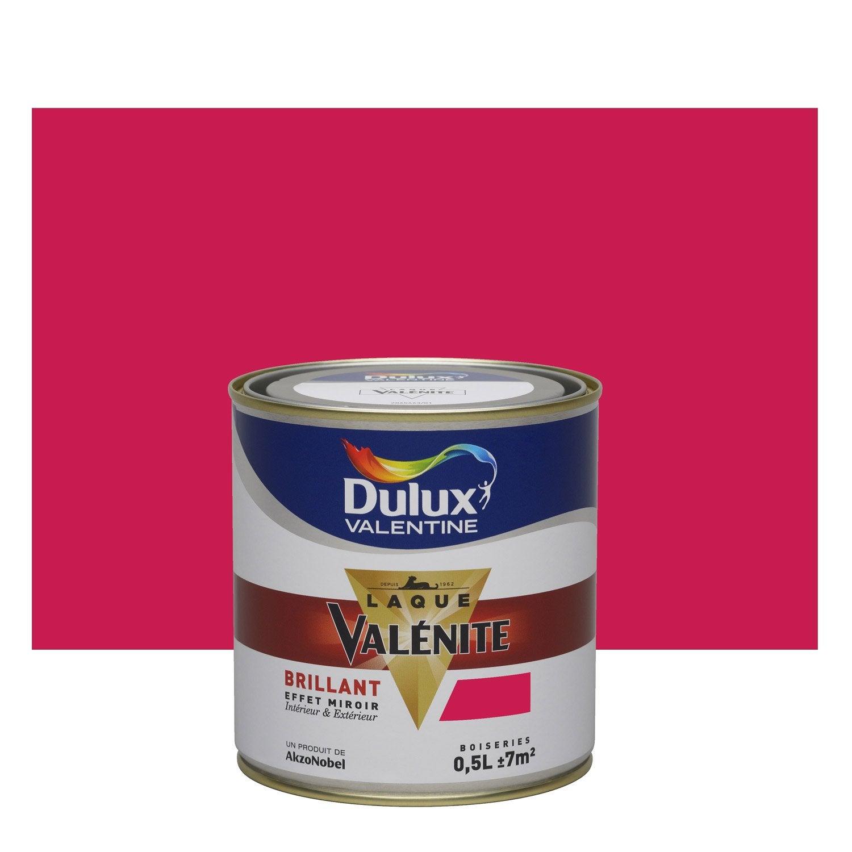 Peinture rouge madras dulux valentine val nite 0 5 l for Peinture glycero cuisine
