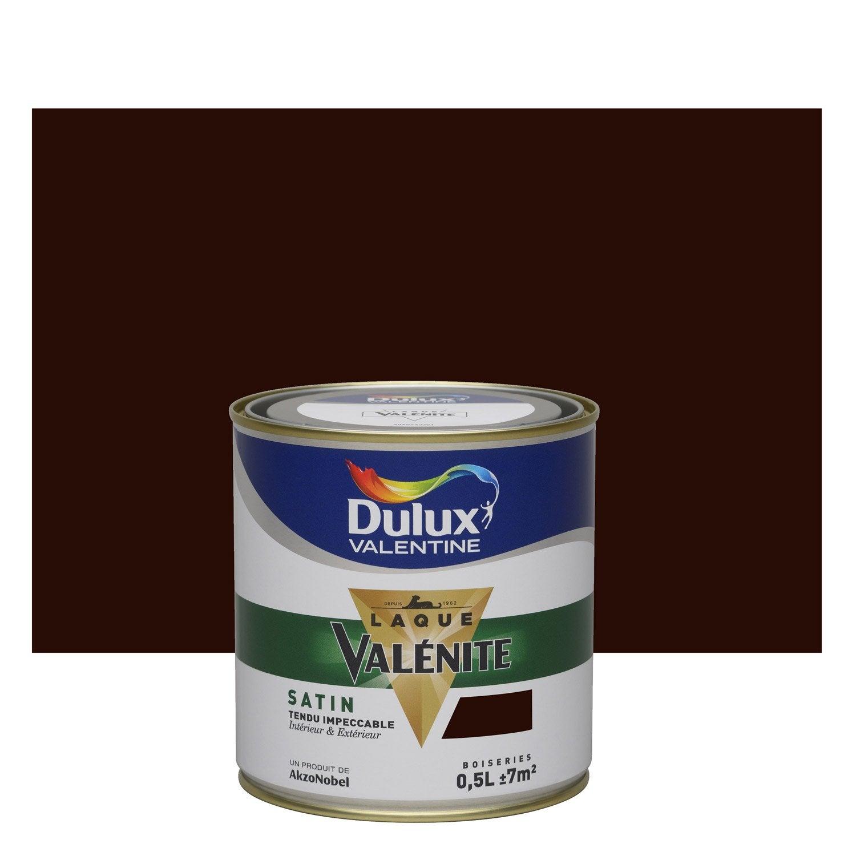 Peinture brun b ne dulux valentine val nite 0 5 l leroy merlin - Peinture isolante leroy merlin ...