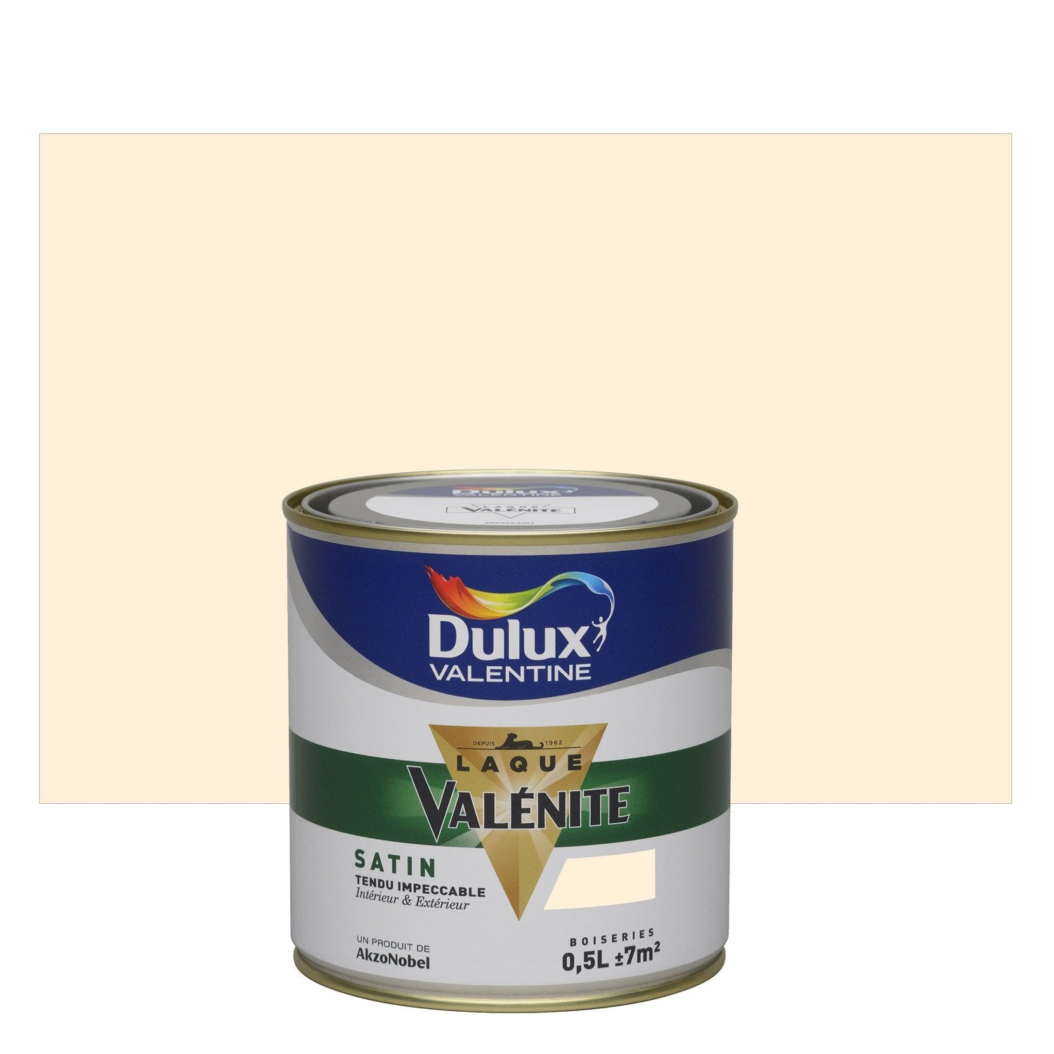 peinture multisupports val nite dulux valentine blanc cass 0 5 l leroy merlin. Black Bedroom Furniture Sets. Home Design Ideas