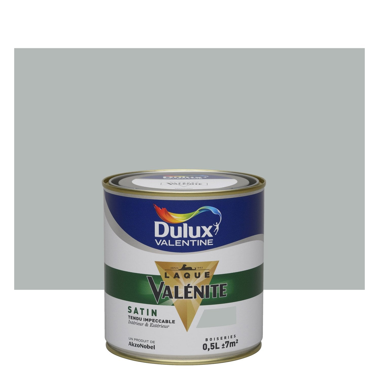 peinture gris alpaga dulux valentine val nite 0 5 l leroy merlin. Black Bedroom Furniture Sets. Home Design Ideas