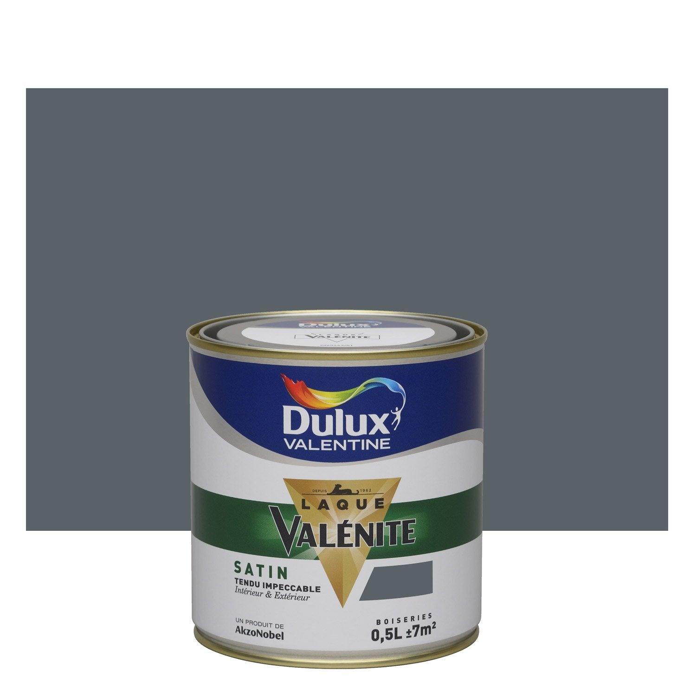 Peinture gris anthracite dulux valentine val nite 0 5 l - Peinture grise leroy merlin ...