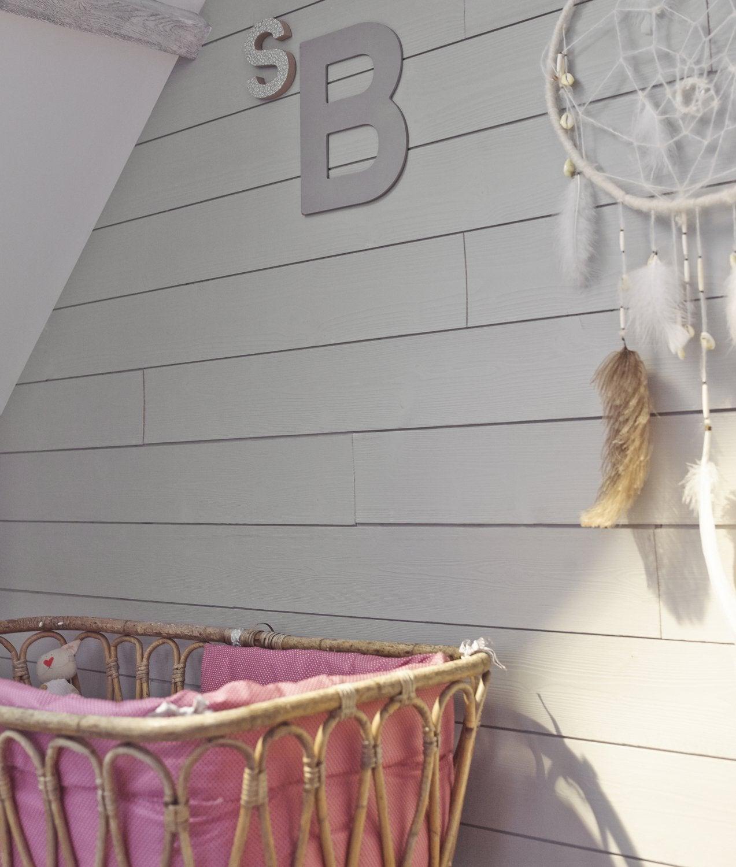 Du lambris bross parfait pour un int rieur scandinave leroy merlin - Lambris chambre ...