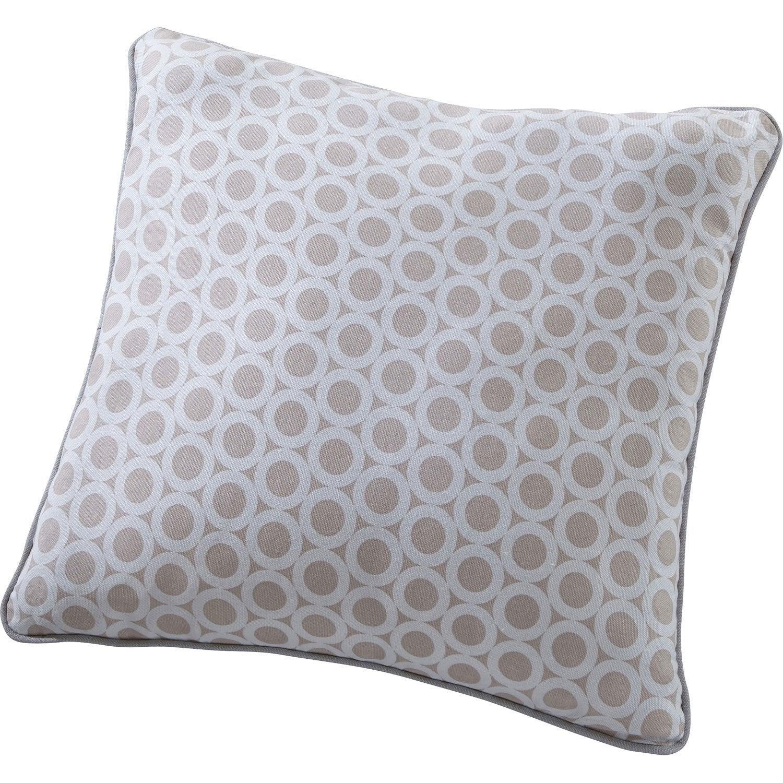 coussin rolli rose pastel x cm leroy merlin. Black Bedroom Furniture Sets. Home Design Ideas