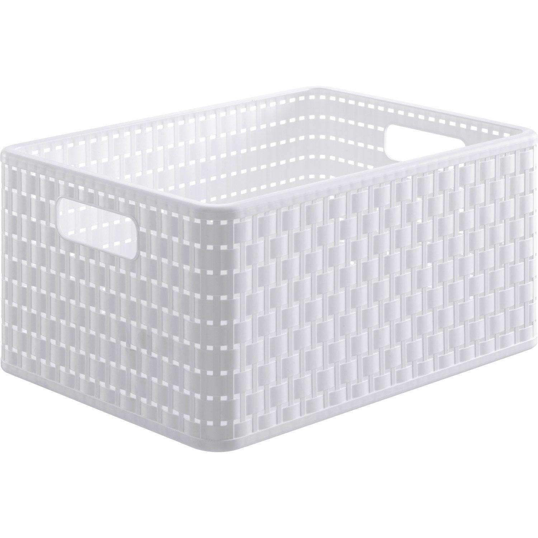 120 caisse rangement plastique leroy merlin bo te de rangement b box en plastique l 55 x p 35. Black Bedroom Furniture Sets. Home Design Ideas