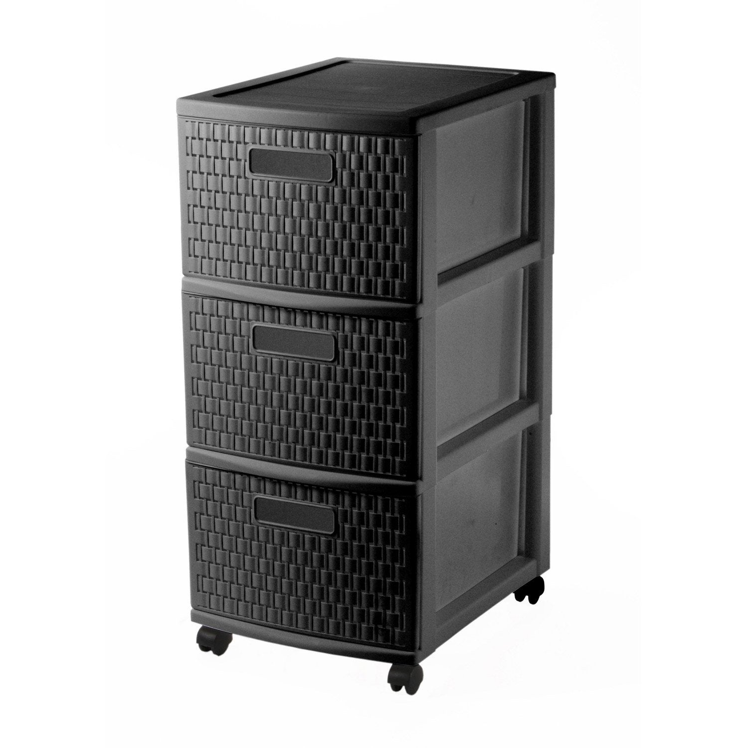 tour de rangement country plastique x x. Black Bedroom Furniture Sets. Home Design Ideas