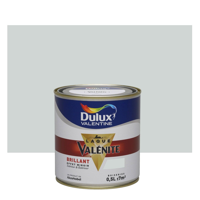 Peinture gris perle dulux valentine val nite 0 5 l leroy for Peinture dulux valentine gris