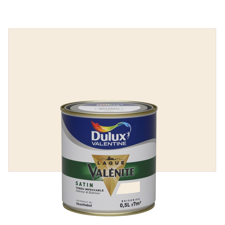 Peinture lin clair dulux valentine val nite 0 5 l leroy - Peinture lin clair ...