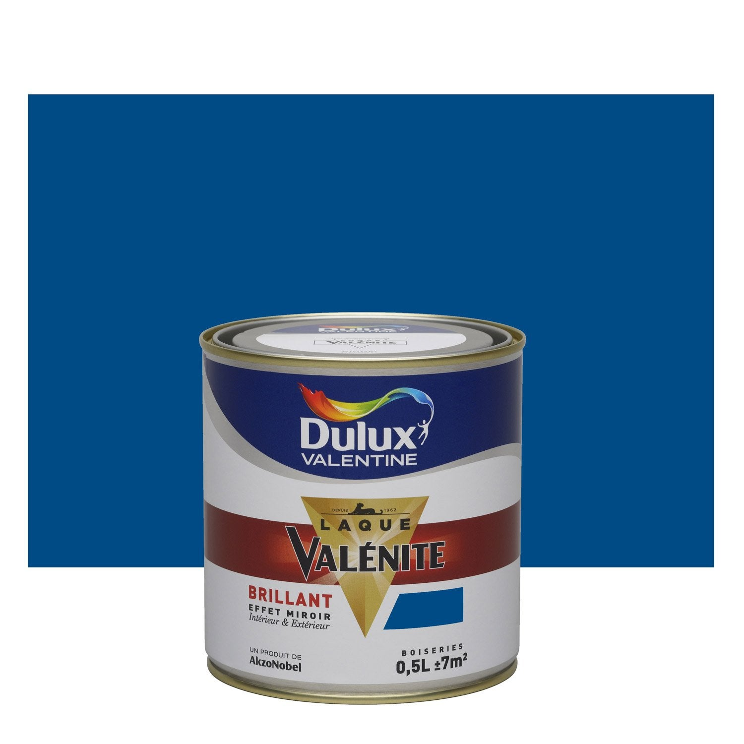 peinture bleu de bretagne dulux valentine val nite 0 5 l leroy merlin. Black Bedroom Furniture Sets. Home Design Ideas