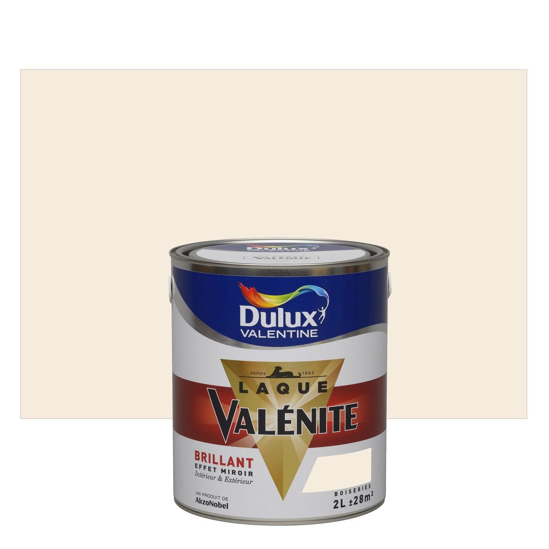 Peinture lin clair dulux valentine val nite 2 l leroy merlin - Peinture lin clair ...