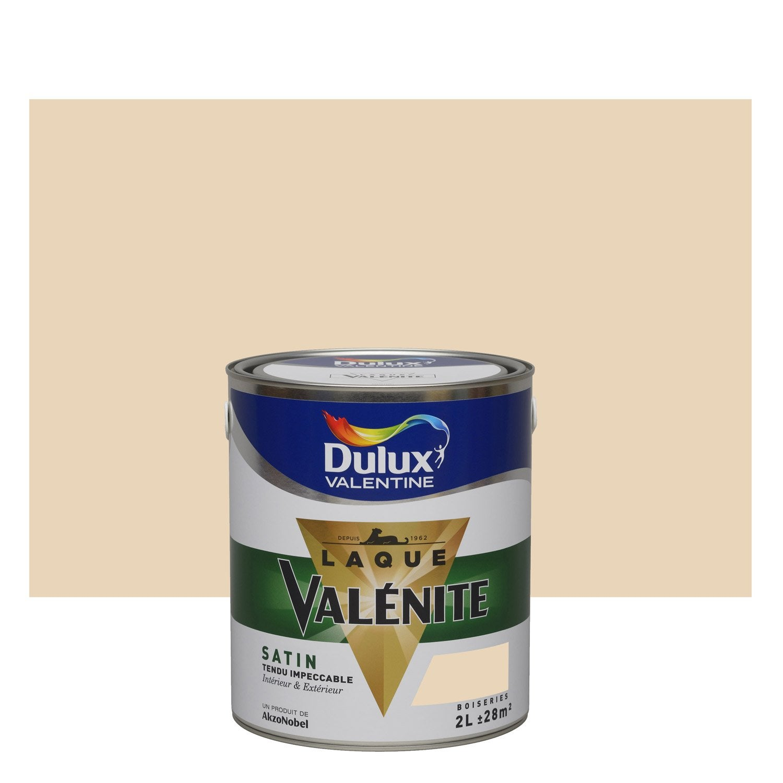 Peinture coquille d 39 uf dulux valentine val nite 2 l leroy merlin - Peinture coquille d oeuf ...