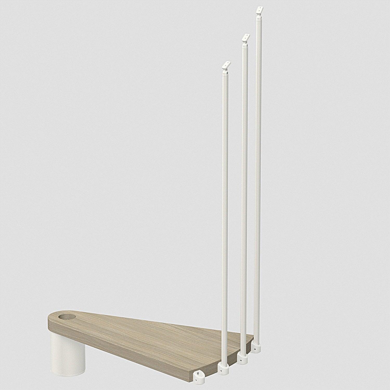 hauteur suppl mentaire pour escalier ring diam 158cm leroy merlin. Black Bedroom Furniture Sets. Home Design Ideas