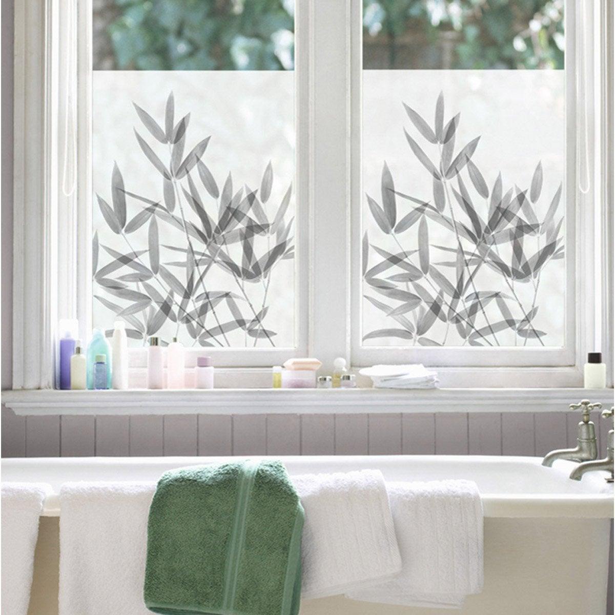 sticker bambou 50cm x 70cm leroy merlin. Black Bedroom Furniture Sets. Home Design Ideas