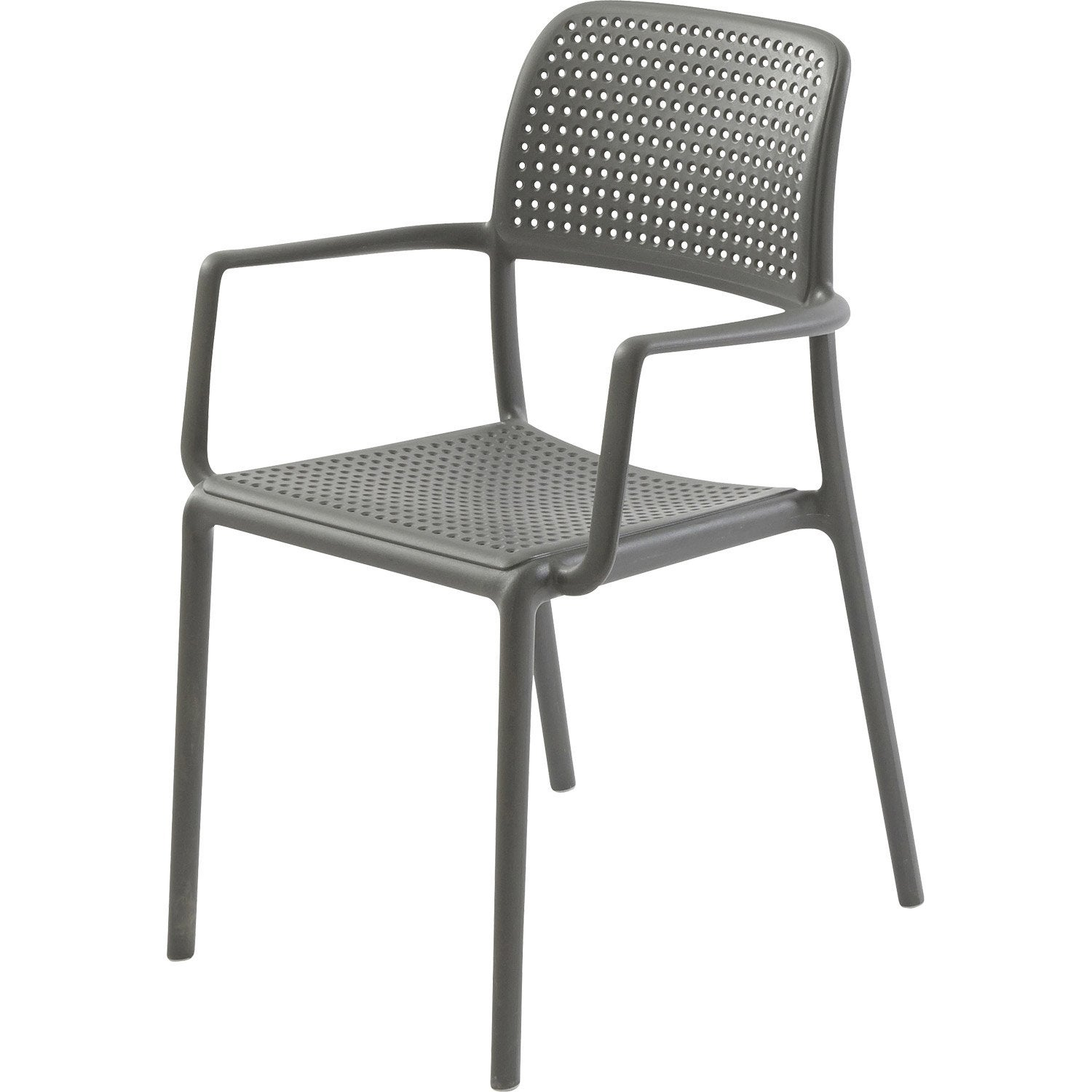 Salon de jardin gris anthracite leroy merlin for Mobilier de jardin leroy merlin