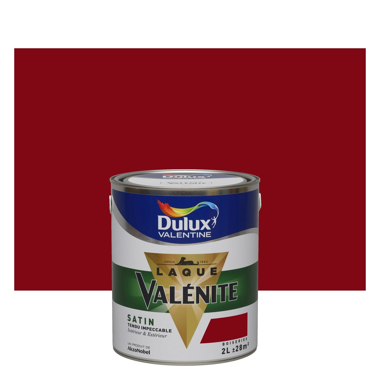 Peinture rouge basque DULUX VALENTINE Valénite 2 l  Leroy Merlin