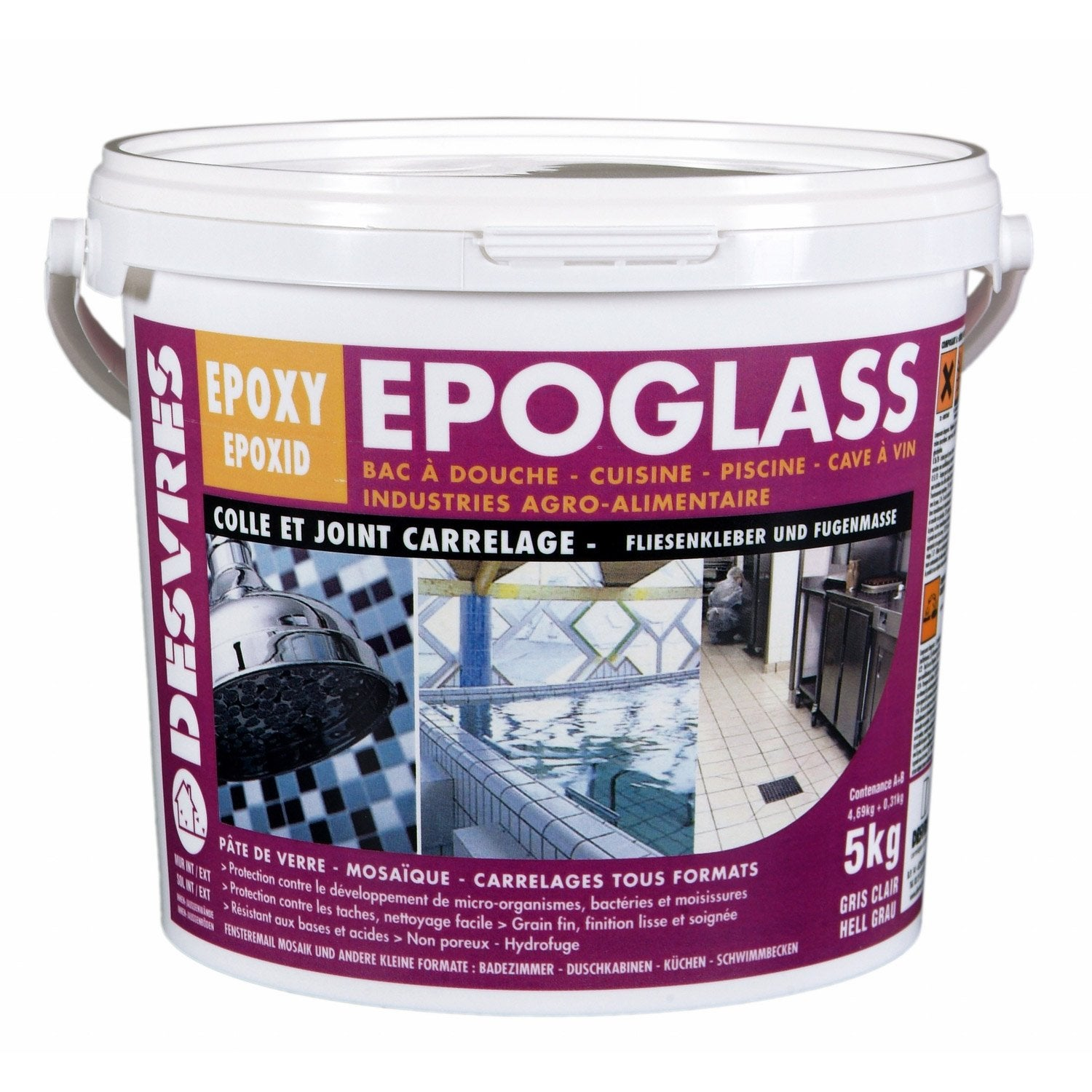 Poser joint carrelage epoxy for Joint pour carrelage blanc