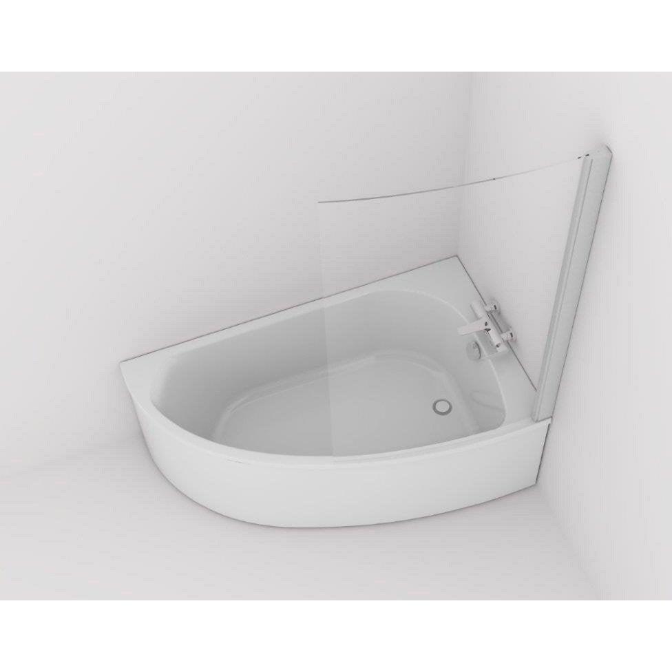 Baignoire asym trique droite cm blanc jacob delafon duomega 2 - Baignoire asymetrique 150 ...