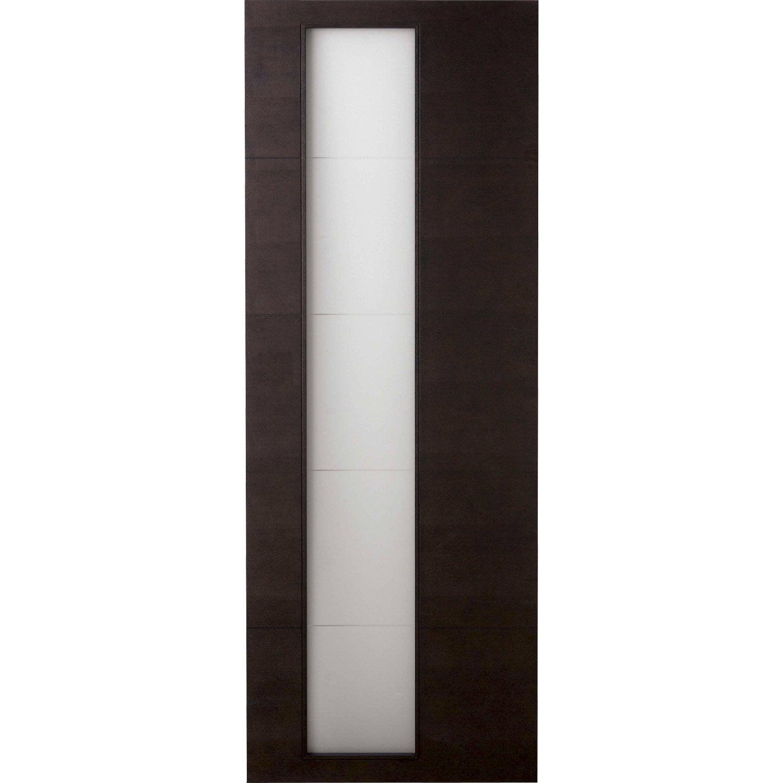 Porte coulissante tokyo artens vitr e 204 x 83 cm for Porte 83 204