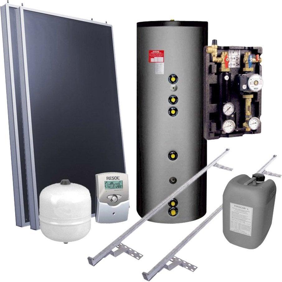 chauffe eau solaire individuel plan ganz ff 300l 2. Black Bedroom Furniture Sets. Home Design Ideas