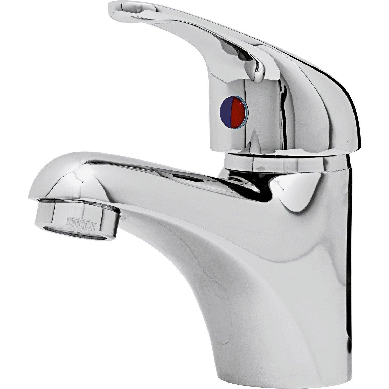 Mitigeur lavabo chrom nerea leroy merlin for Leroy merlin salle de bain robinetterie