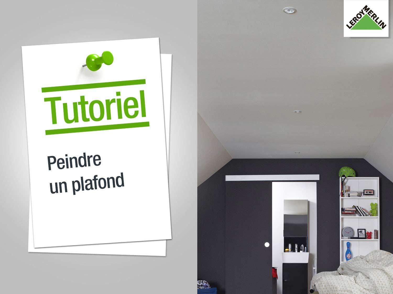 lessiver un plafond avant peinture simple plafond avant. Black Bedroom Furniture Sets. Home Design Ideas