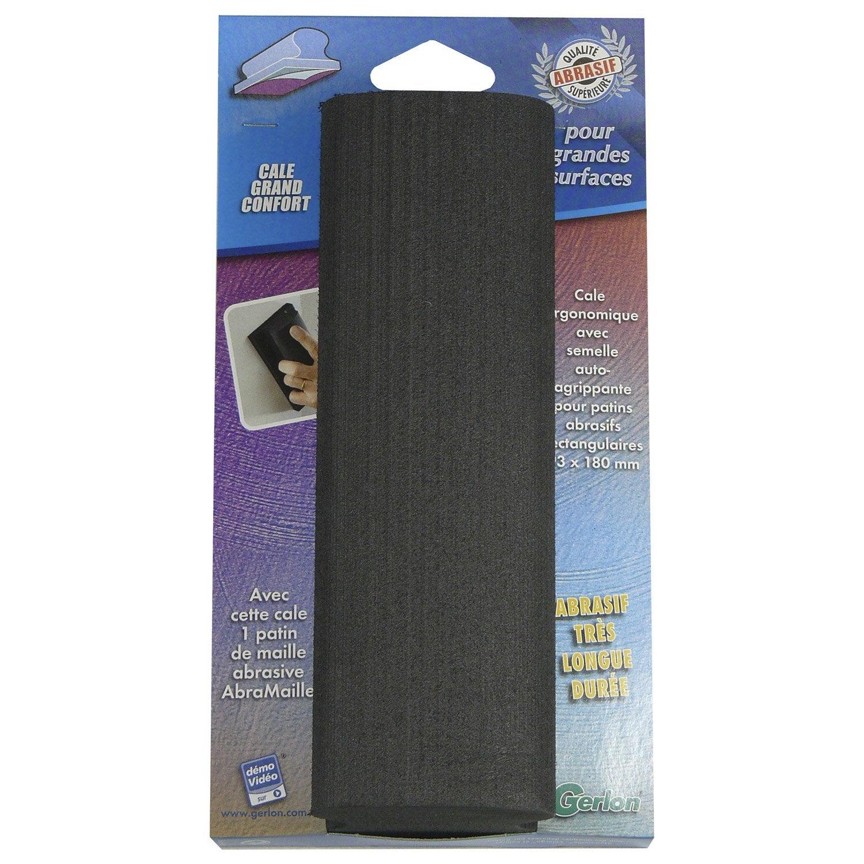 cale poncer abrasive gerlon 93 x 180 mm grains 120 leroy merlin. Black Bedroom Furniture Sets. Home Design Ideas