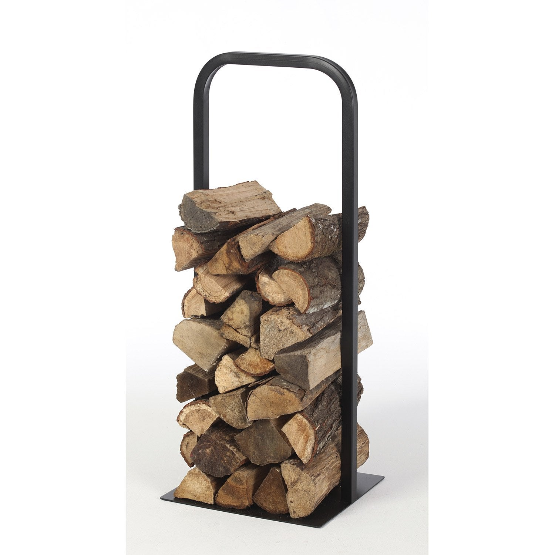 rangement pour bois acier noir atelier dix neuf cima cm leroy merlin. Black Bedroom Furniture Sets. Home Design Ideas
