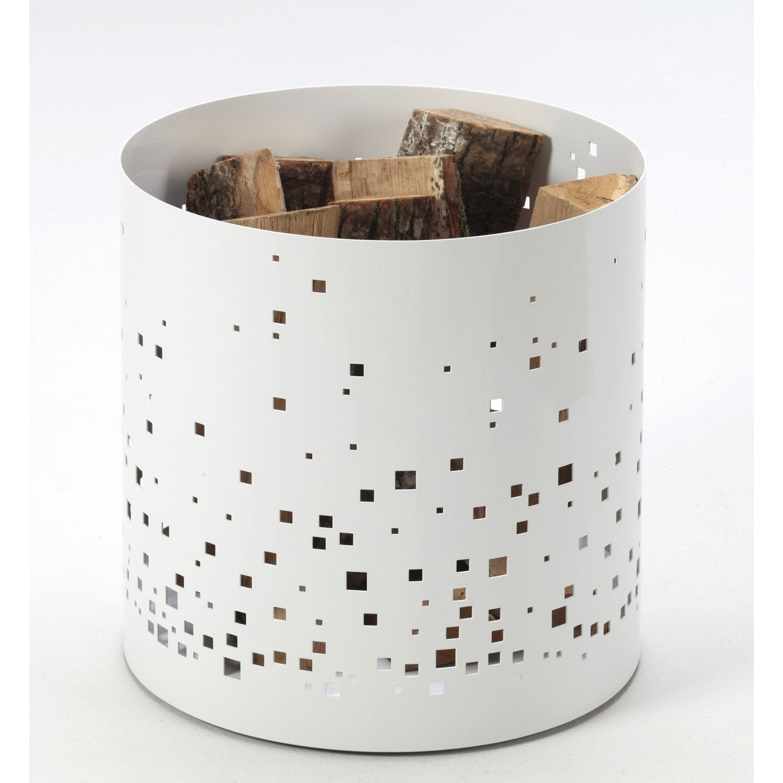 Rangement pour bois acier blanc atelier dix neuf ephemer - Atelier bricolage leroy merlin ...