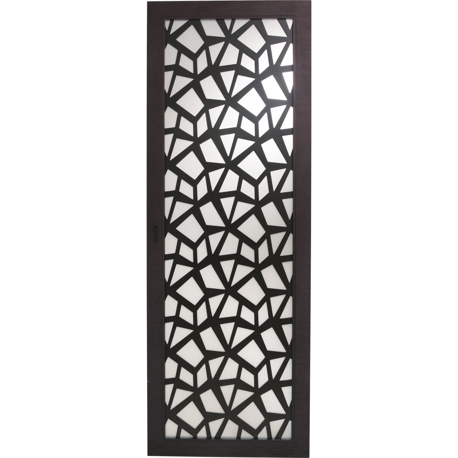 Porte coulissante crash artens vitr e 204 x 83 cm for Porte en verre coulissante leroy merlin