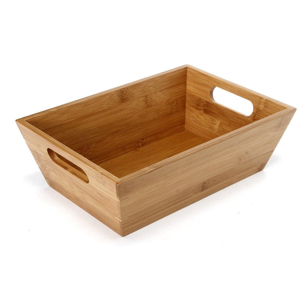 panier en bois naturel bambou leroy merlin. Black Bedroom Furniture Sets. Home Design Ideas