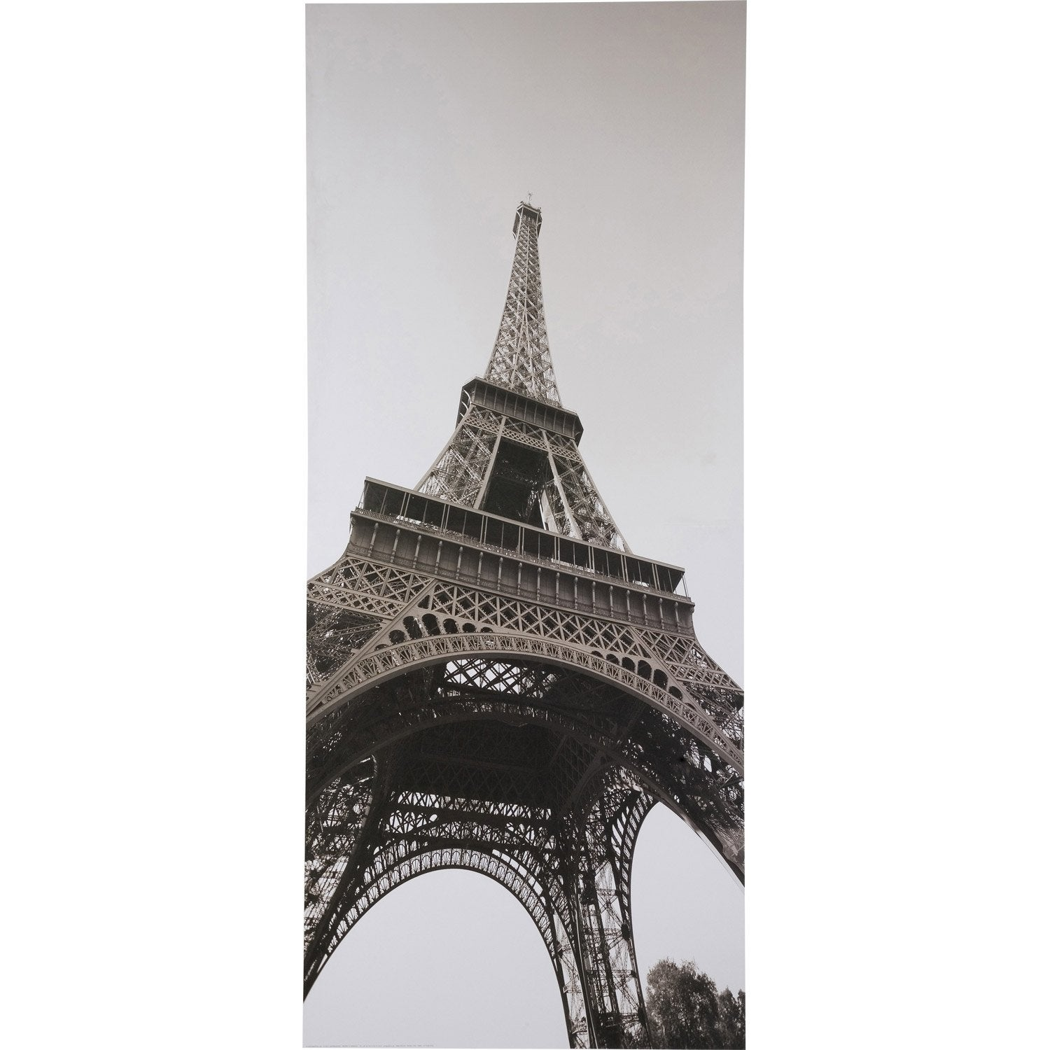 poster de porte paris la tour eiffel 92 x 202 cm leroy merlin. Black Bedroom Furniture Sets. Home Design Ideas