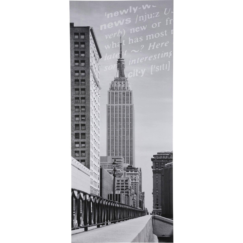 poster de porte nyc empire state building deco door x. Black Bedroom Furniture Sets. Home Design Ideas