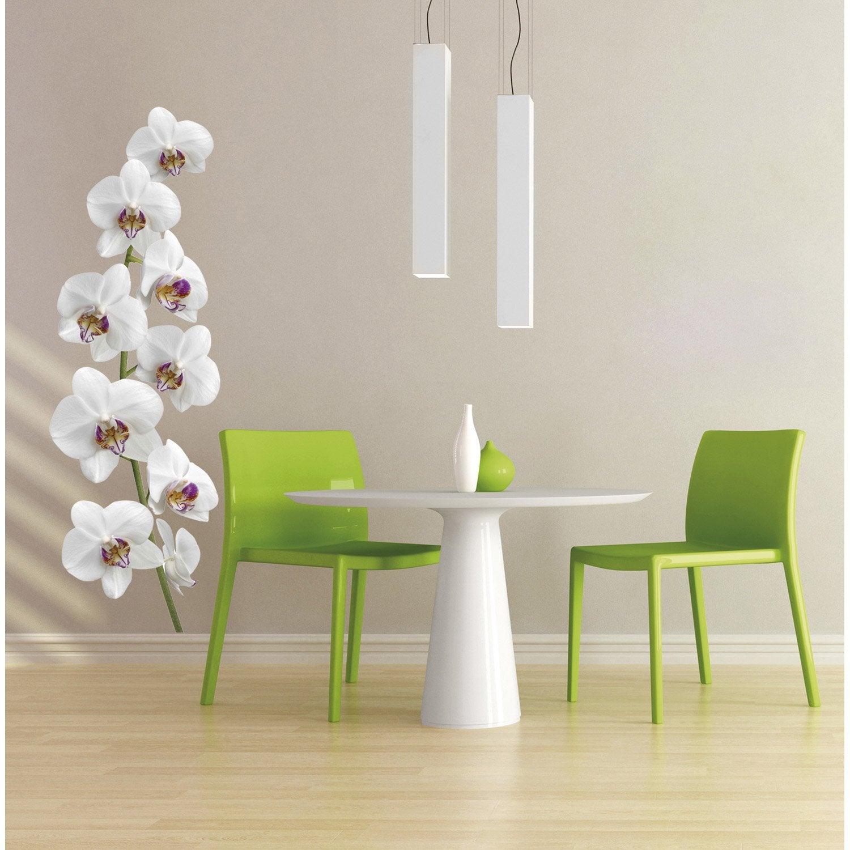 sticker coeur d 39 orchid e 56 cm x 164 cm leroy merlin. Black Bedroom Furniture Sets. Home Design Ideas