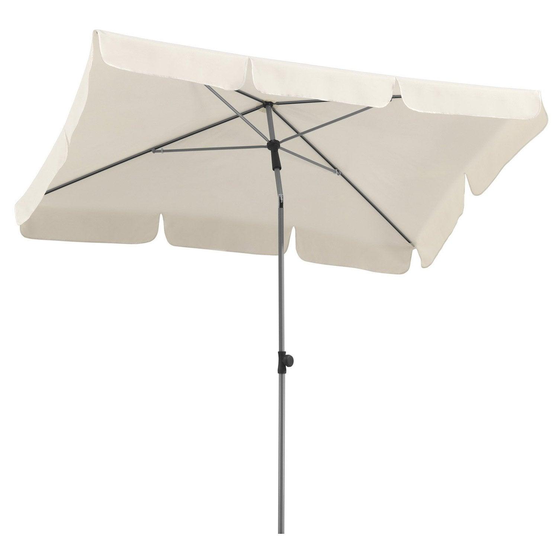Parasol droit locarno naturel rectangulaire x cm leroy merlin - Rode leroy merlin parasol ...