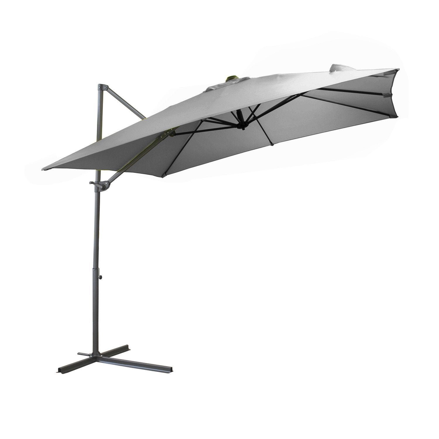 Dalle parasol leroy merlin gallery of parasol basic lift - Parasol rectangulaire inclinable castorama ...