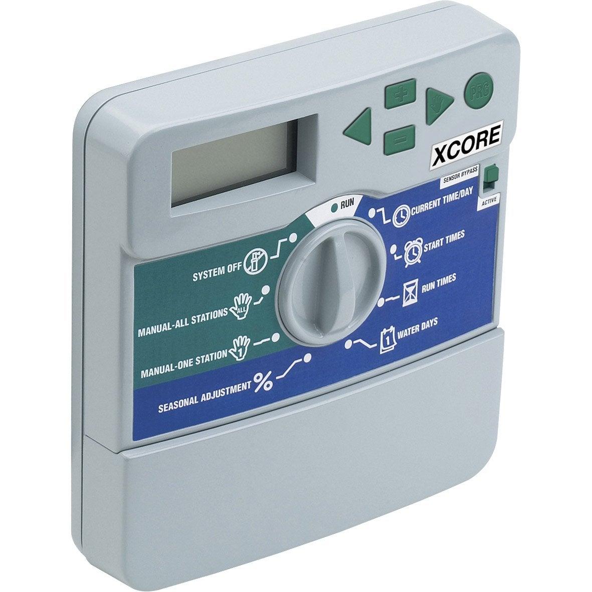 Programmateur electrique hunter xcore4 multivoie leroy merlin - Arrosage automatique leroy merlin ...