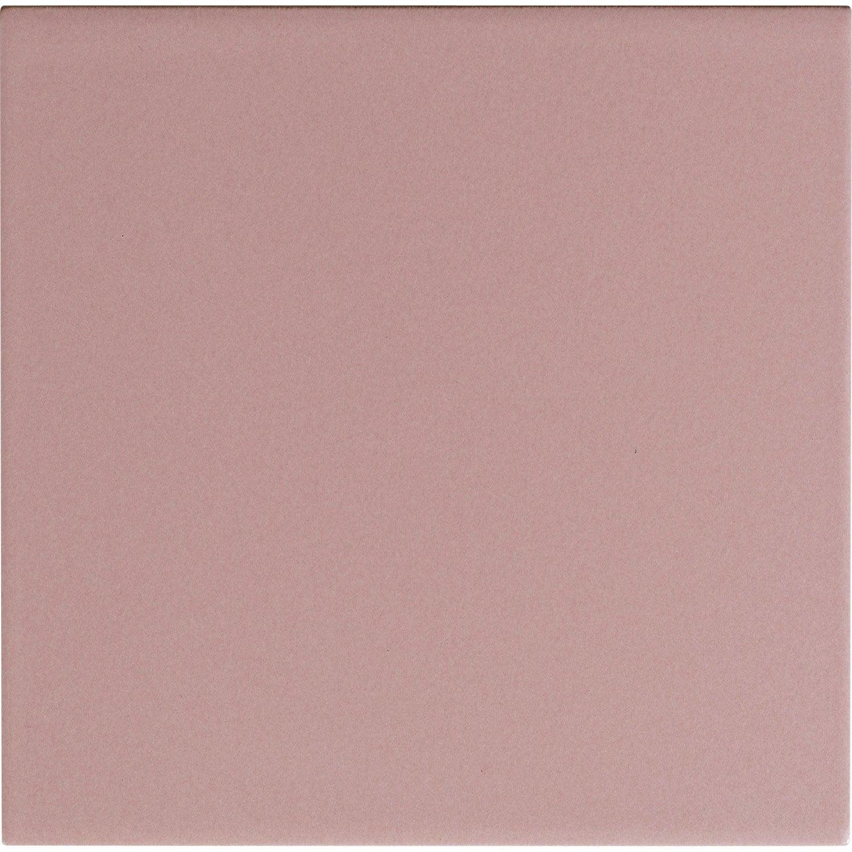 fa ence mur rose blush astuce x cm leroy merlin. Black Bedroom Furniture Sets. Home Design Ideas