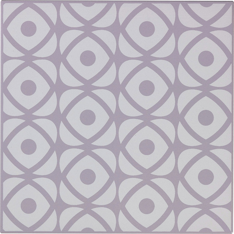faà ence mur violet aubergine astuce l 10 x l 20 cm leroy merlin