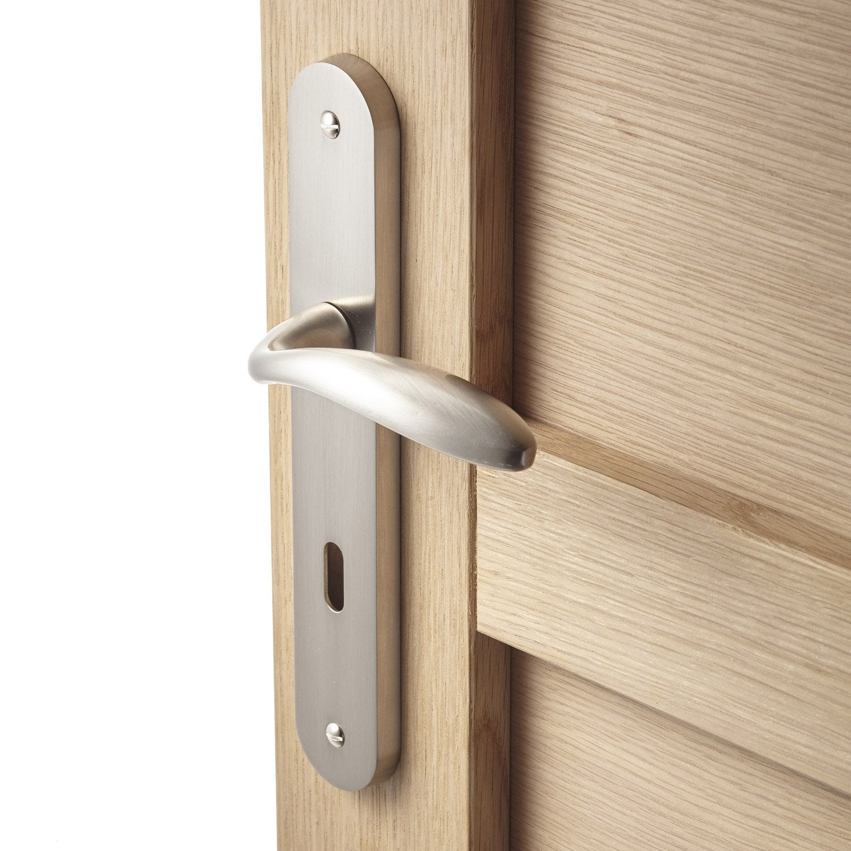 2 poign es de porte agathe trou de cl zinc 195 mm leroy merlin. Black Bedroom Furniture Sets. Home Design Ideas