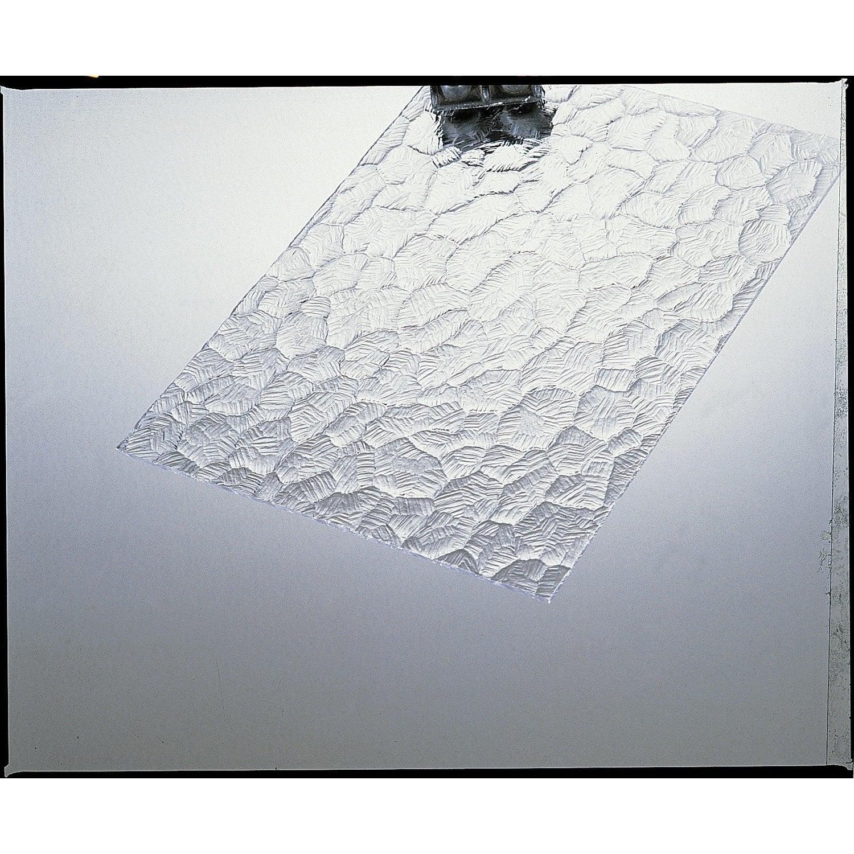 plaque de verre synth tique ecaille polystyr ne 100x50cm p 5mm leroy merlin. Black Bedroom Furniture Sets. Home Design Ideas