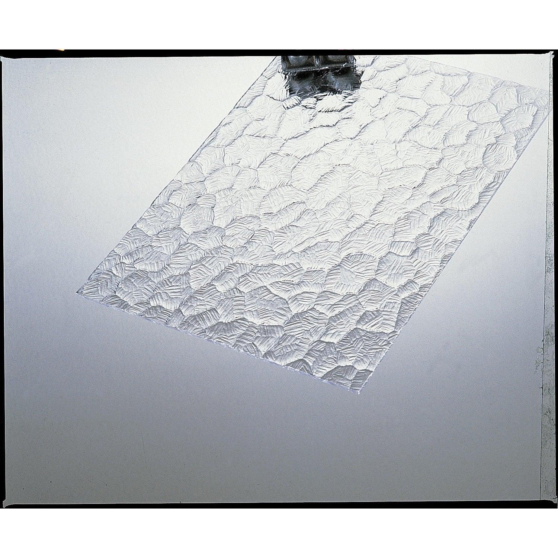 plaque de verre synth tique ecaille polystyr ne 200x100cm p 5mm leroy merlin. Black Bedroom Furniture Sets. Home Design Ideas