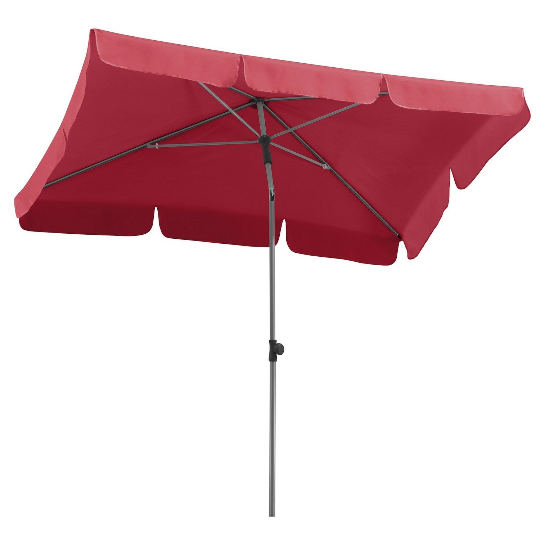 Parasol droit locarno schneider rouge m leroy merlin - Parasol rouge leroy merlin ...