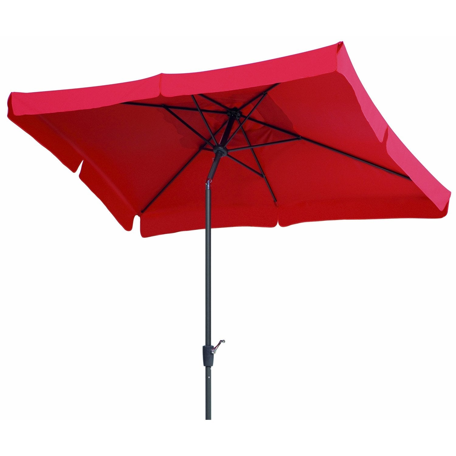 Parasols rectangulaires pour balcons fashion designs - Parasol deporte inclinable leroy merlin ...