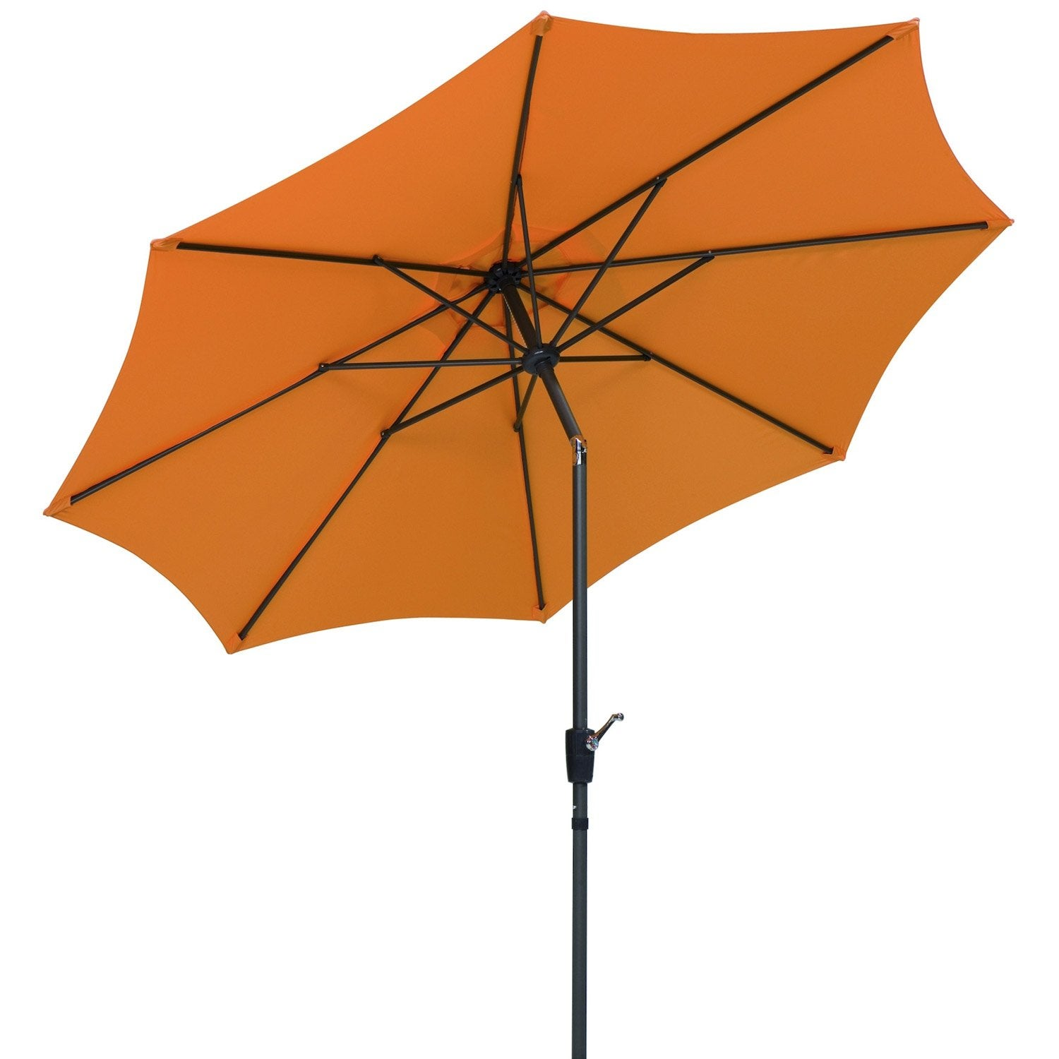 parasol droit harlem mandarine octogonal x cm. Black Bedroom Furniture Sets. Home Design Ideas