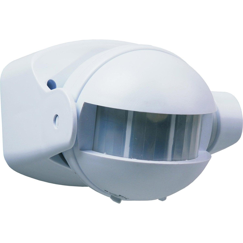 d tecteur de mouvement pour clairage 180 smartwares es34 sw leroy merlin