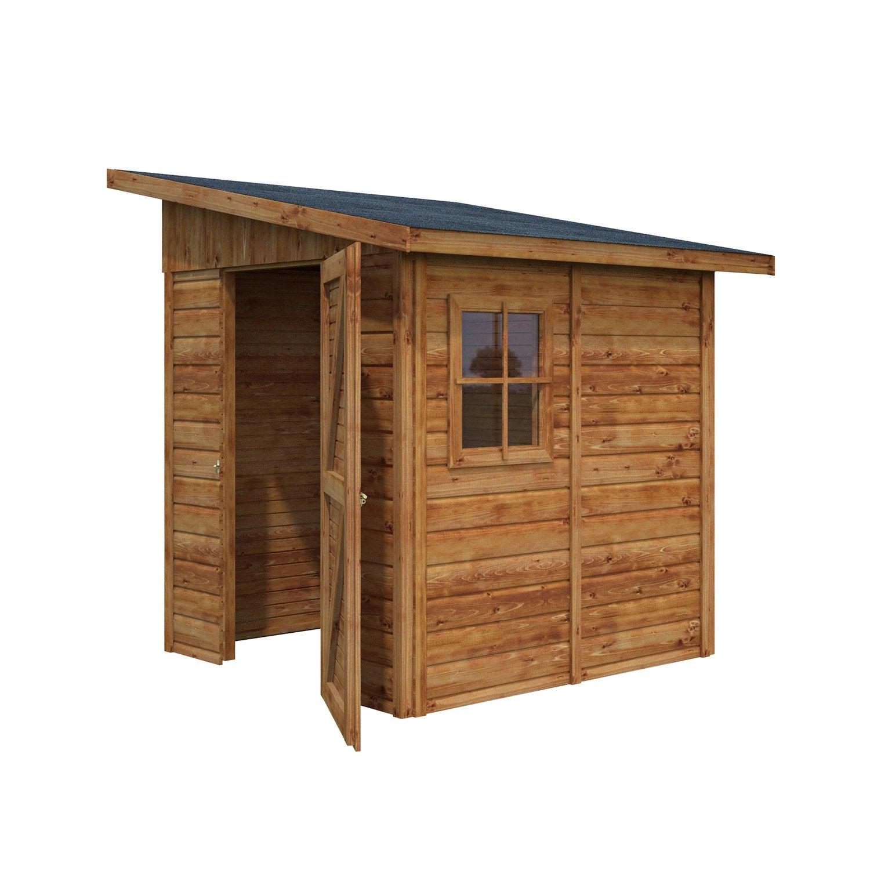 Abri de jardin bois Aravis 3 03 m² Ep 19 mm