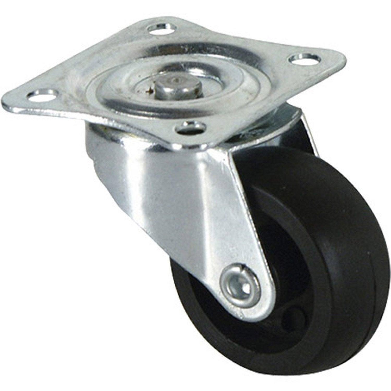 pied de meuble, roue et roulette - pied de table | leroy merlin - Roulette Design Pour Meuble